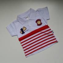 Camiseta Polo Champion - TAM M - 6 a 9 meses - Elian