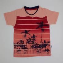 Camiseta Palmeiras Vermelho - TAM 2 - 2 anos - Trick