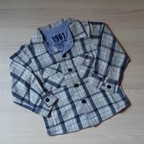Camisa Xadrez  Tip Top - Tam 2T - 12 a 18 meses - Tip Top