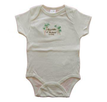 BODY MANGA CURTA BEBE LIFE - UP BABY - TAM G - 6 a 9 meses - Up Baby
