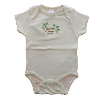 BODY MANGA CURTA BEBE LIFE - UP BABY - TAM P - 0 a 3 meses - Up Baby