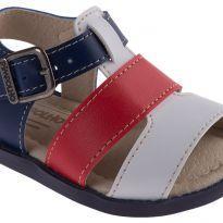 Sandália Azul e Vermelha Pimpolho - Tam 18 - 16 - Pimpolho