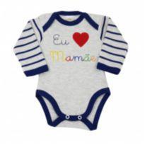 Body Frase Amo Mamãe - Best Club - Tam M - 3 a 6 meses - Best Club