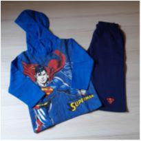 Conjunto Moleton Superman - 1 ano - Marlan
