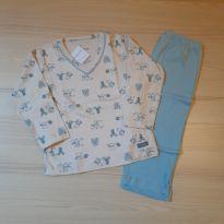Pijama Estampa Ursinhos Dedeka - TAM 1 - 12 a 18 meses - Dedeka