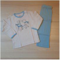 Pijama Ursinhos Dedeka - TAM 1 - 12 a 18 meses - Dedeka