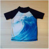 Camiseta Praia e Piscina Tam 2 - 2 anos - Não informada