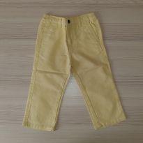Calça de Tecido Amarela - Tam 2 - 2 anos - Nautica