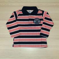 Camiseta Polo - Pulla Bulla Tam 1 - 1 ano - Pulla Bulla