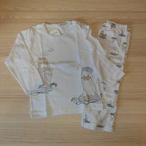 Pijama Pinguim - Dedeka Tam 1 - 1 ano - Dedeka