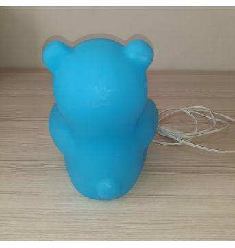 Abajur Porta Retrato Urso Azul - Imaginarium - Sem faixa etaria - Imaginarium