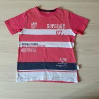 Camiseta Superior Boys - TAM 4 - 4 anos - Não informada