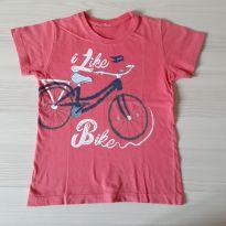 Camiseta Bike - TAM 4 - 4 anos - Não informada