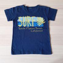 Camiseta Surf - TAM 3 - 3 anos - Não informada