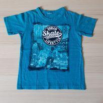 Camiseta Skate - TAM 4 - 4 anos - Não informada