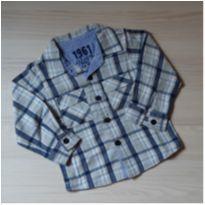 Camisa Xadrez  Tip Top - Tam 2T - 18 a 24 meses - Tip Top