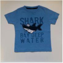 Camiseta Shark TAM G - 6 a 9 meses - TMX