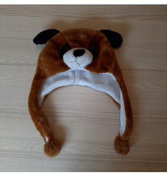 Gorro Pelúcia Urso - Sem faixa etaria - Não informada