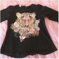 Camiseta de tigre - 7 anos - Clube do Dino