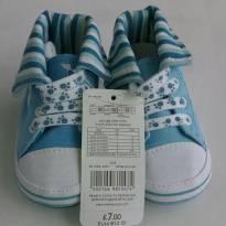Botinha azul - 16 - Mothercare