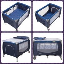 Berço Camping azul infanti -  - Infanti