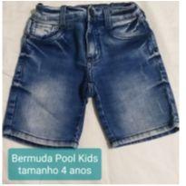 Bermuda Jeans - 4 anos - Pool Kids