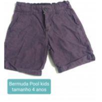 Bermuda roxa - 4 anos - Pool Kids