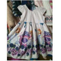 Vestido de Festa da Princesa Sofia - 24 a 36 meses - Sem marca