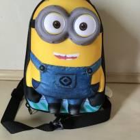 Lancheira/mochila Minion
