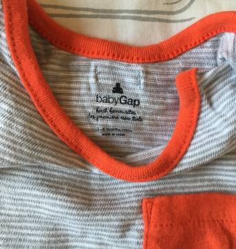 Macacão baby Gap - 3 a 6 meses - Baby Gap