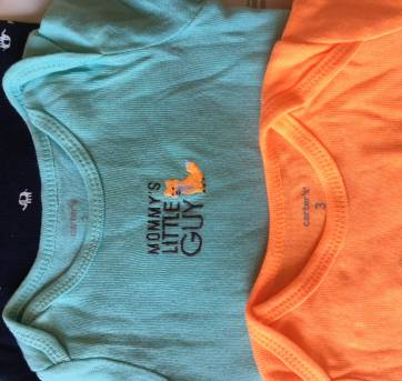 Kit bodies Carters 3 unidades - 3 meses - Carter`s