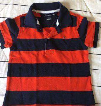 Camisa polo Tommy - 3 anos - Tommy Hilfiger