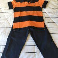 Conjunto polo Baby Gap + calça - 3 anos - Baby Gap