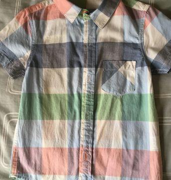 Camisa xadrez - 2 anos - Sem marca