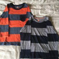 Camisetas manga longa - 2 anos - H&M