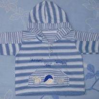 Blusa de frio veste P - 3 a 6 meses - Aconchego do Bebê