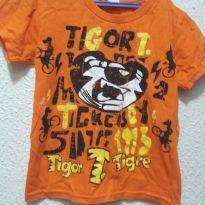 Blusa - 4 anos - Tigor T.  Tigre