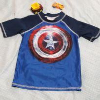 Blusa meia manga CAPITAL AMERICA - 4 anos - MARVEL
