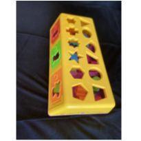 Brinquedo Caixa Encaixa -  - Estrela