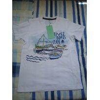 Camisa Oliver barco - 8 anos - Oliver
