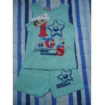 Pijama importado - 6 meses - Tangzhuang