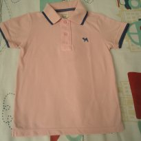 Camisa polo Charpey rosa - 4 anos - Charpey
