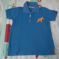 Camisa polo Oliver azul - 4 anos - Oliver
