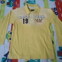 Camisa Banana Danger amarela - 4 anos - Banana Danger