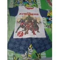 Pijama AVENGERS - 4 anos - Avengers