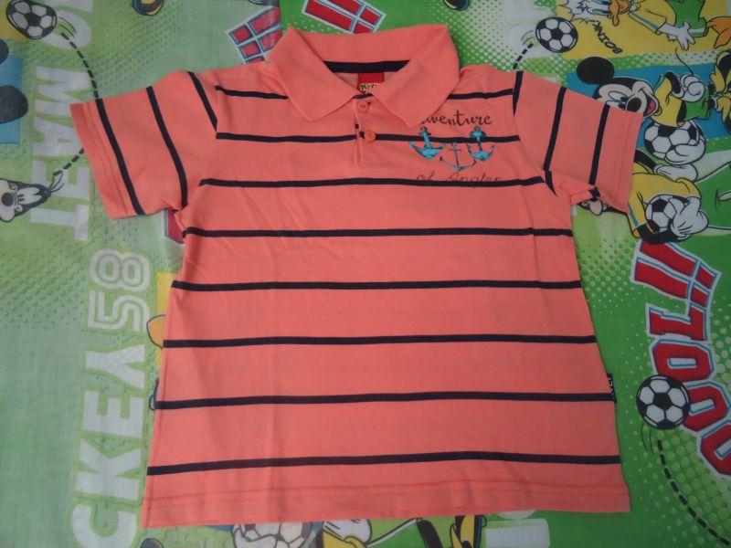Camisa polo Kyly 4 anos no Ficou Pequeno - Desapegos de Roupas quase ... 4b8760f9c18de