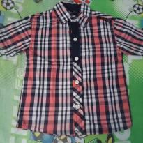 Camisa HOMMER xadrez - 4 anos - Hommer