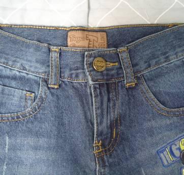 Bermuda Tigor jeans - 6 anos - Tigor T.  Tigre