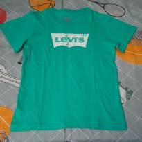 Camisa Levi`s verde - 5 anos - Levi`s