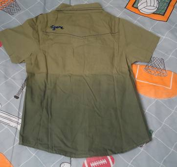 Camisa Tigor verde musgo - 4 anos - Tigor T.  Tigre